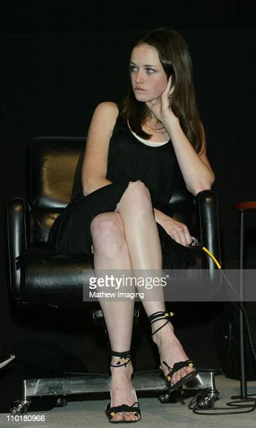 Alexis Bledel during ACADEMY OF TELEVISION ARTS SCIENCES presents Behind the Scenes of Gilmore Girls at Leonard H Goldenson Theatre in North...