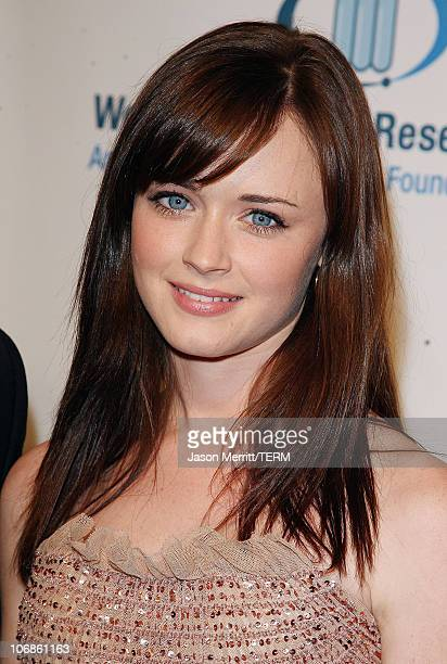Alexis Bledel during Saks Fifth Avenue's Unforgettable Evening Benefit for EIF's Women's Cancer Research Fund Arrivals at Regent Bevery Wilshire...