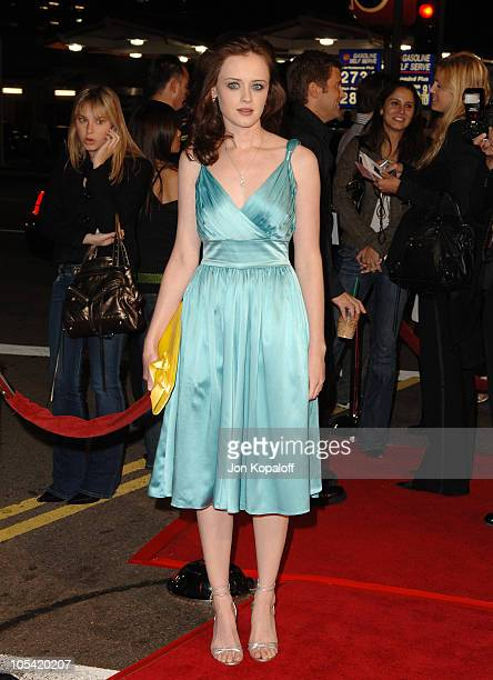 Alexis Bledel during 'Sin City' Los Angeles Premiere Arrivals at Mann National Theater in Westwood California United States