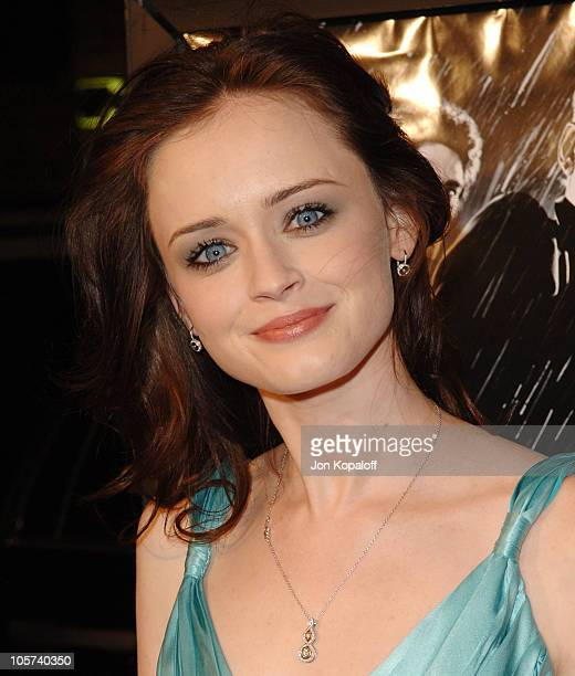 Alexis Bledel during Sin City Los Angeles Premiere Arrivals at Mann National Theater in Westwood California United States