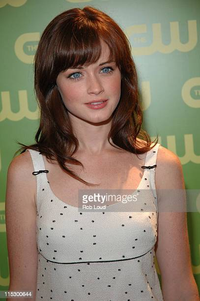 Alexis Bledel during The CW Upfront Red Carpet at Madison Square Garden in New York New York United States