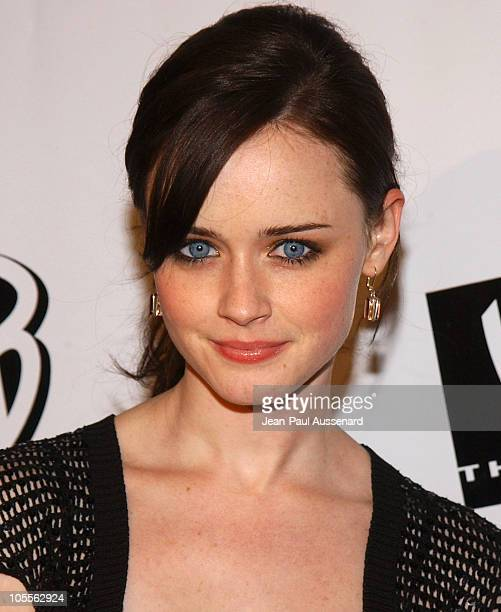 Alexis Bledel during The WB Television Network's 2005 All Star Party Arrivals at Warner Bros Studio in Burbank California United States