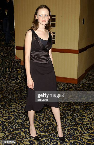 Alexis Bledel during WB Television Network 2003 2004 Upfront Presentation at Sheraton Hotel in New York NY United States