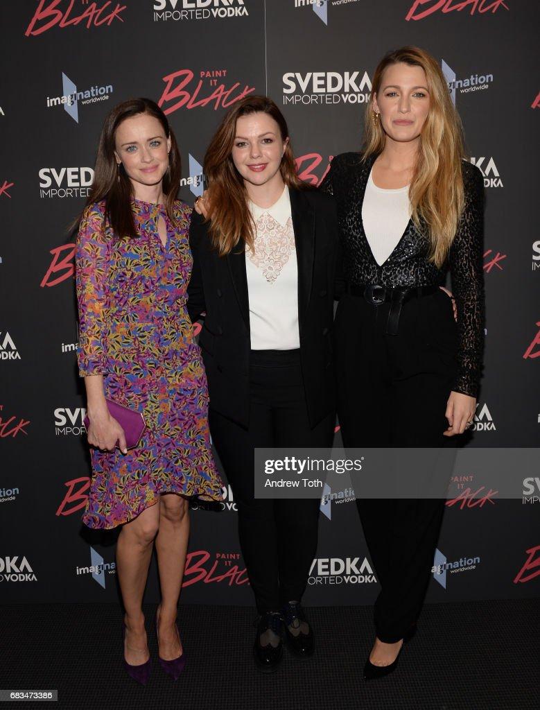"""""""Paint It Black"""" New York Premiere - Arrivals : News Photo"""