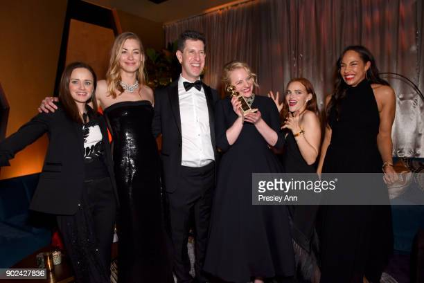 Alexis Bledel Yvonne Strahovski Hulu Senior Vice President of Content Craig Erwich Elisabeth Moss Madeline Brewer and Amanda Brugel attend FOX FX and...