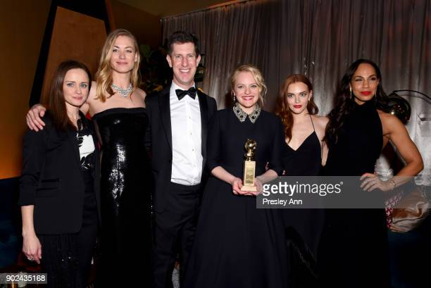 Alexis Bledel Yvonne Strahovski Hulu Senior Vice President of Content Craig Erwich Elisabeth Moss Madeline Brewer and Amanda Brugel attend FOX FX and...