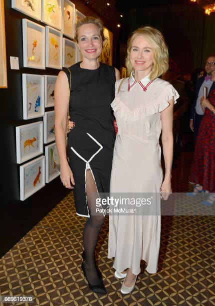 Alexis Bloom and Naomi Watts attend The Turtle Conservancy's 4th Annual Turtle Ball at The Bowery Hotel on April 17 2017 in New York City