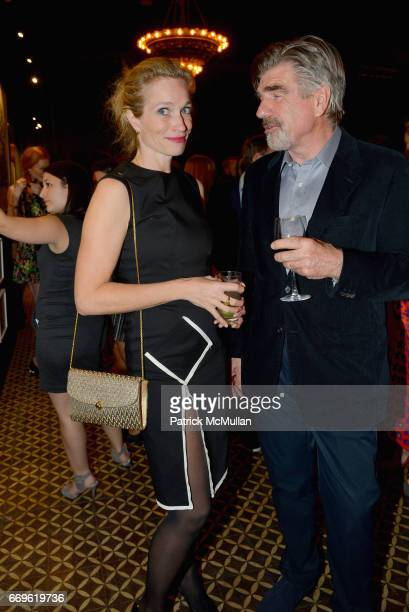 Alexis Bloom and Tom Freston attend The Turtle Conservancy's 4th Annual Turtle Ball at The Bowery Hotel on April 17 2017 in New York City