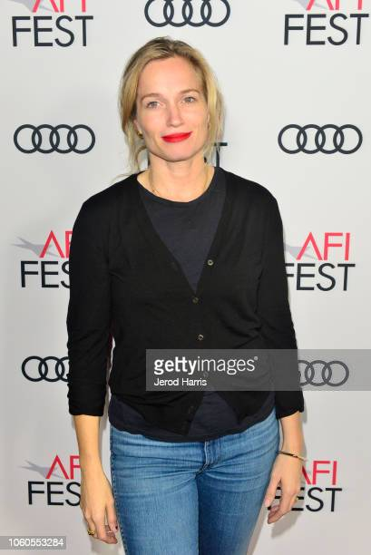 Alexis Bloom attends Festival Filmmakers at AFI FEST 2018 Presented By Audi at TCL Chinese 6 Theatres on November 11 2018 in Hollywood California