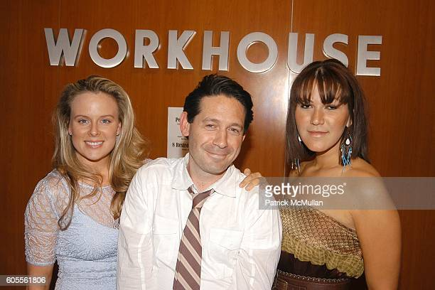 Alexis Bodkin Adam Nelson and Anna De Souza attend Workhouse Wonderland Fall Preview and Luxury Gifts at Workhouse on May 24 2006 in New York City
