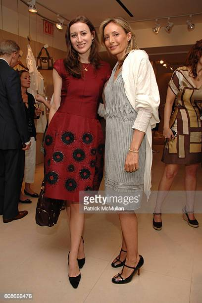 Alexis Bryan and Lubov Azria attend MAX and LUBOV AZRIA Present their Resort Collections at BCBG MAX AZRIA GROUP Showroom on June 5 2007 in New York...