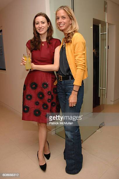 Alexis Bryan and Meredith Melling Burke attend MAX and LUBOV AZRIA Present their Resort Collections at BCBG MAX AZRIA GROUP Showroom on June 5 2007...