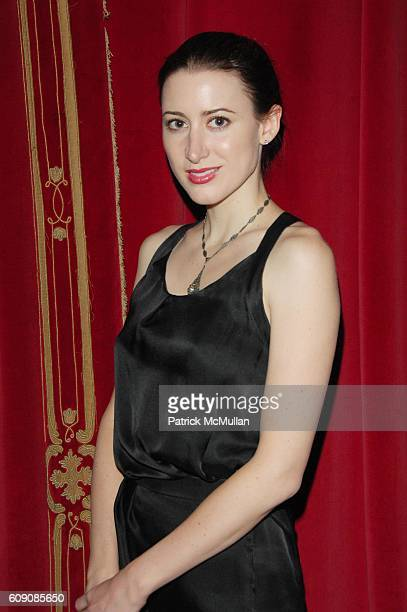 Alexis Bryan attends DIANE VON FURSTENBERG and RICHARD LAMBERSTON toast ROBERT LEE MORRIS at Rose Bar Gramercy Park Hotel NYC on May 3 2007 in New...