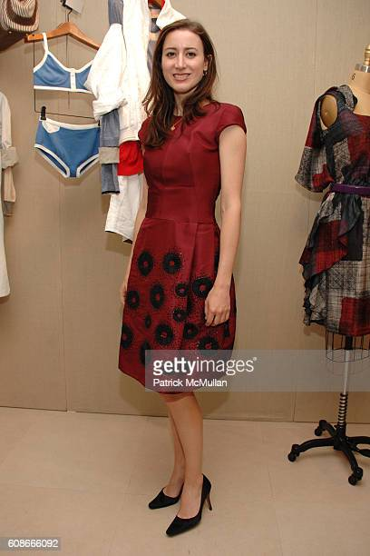 Alexis Bryan attends MAX and LUBOV AZRIA Present their Resort Collections at BCBG MAX AZRIA GROUP Showroom on June 5 2007 in New York City