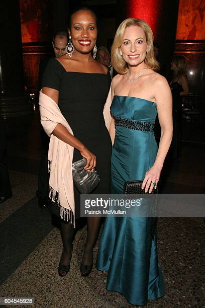 Alexis Clark and Gillian Miniter attend The Museum Gala at American Museum of Natural History on November 16 2006 in New York City