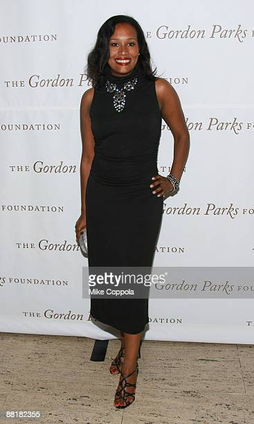 Alexis Clark attends the Gordon Parks Foundation's Celebrating Fashion Awards Gala at Gotham Hall on June 2 2009 in New York City