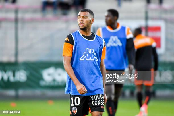 Alexis Claude Maurice of Lorient during the French Ligue 2 match between Red star and Lorient at Stade Pierre Brisson on September 14 2018 in...