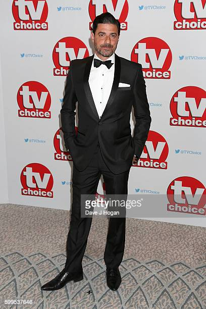 Alexis Conran arrives for the TVChoice Awards at The Dorchester on September 5 2016 in London England