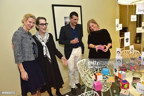 Alexis Contant Janice Feldman Giulio Capua and Dayna Lane attend the Art Basel Charity Event Hosted by JANUS et Cie CEO Janice Feldman and...