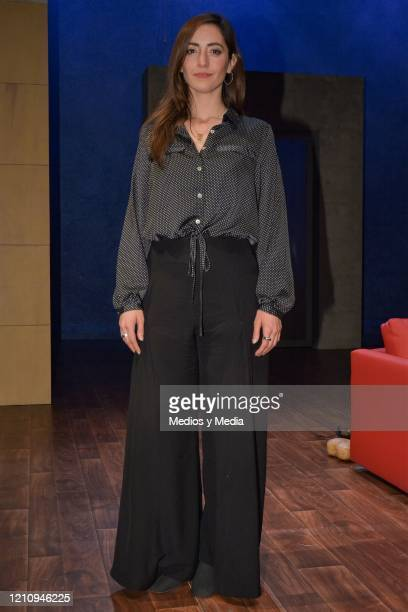 Alexis de Anda poses for photo as part of the play 'Between Pancho Villa and a Naked Woman' at Rafael Solana Theatre on March 6 2020 in Mexico City...