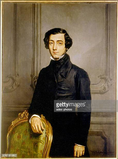 Alexis de Tocqueville French political writer and historian In 1850 Mus��e du Ch��teau de Versailles France