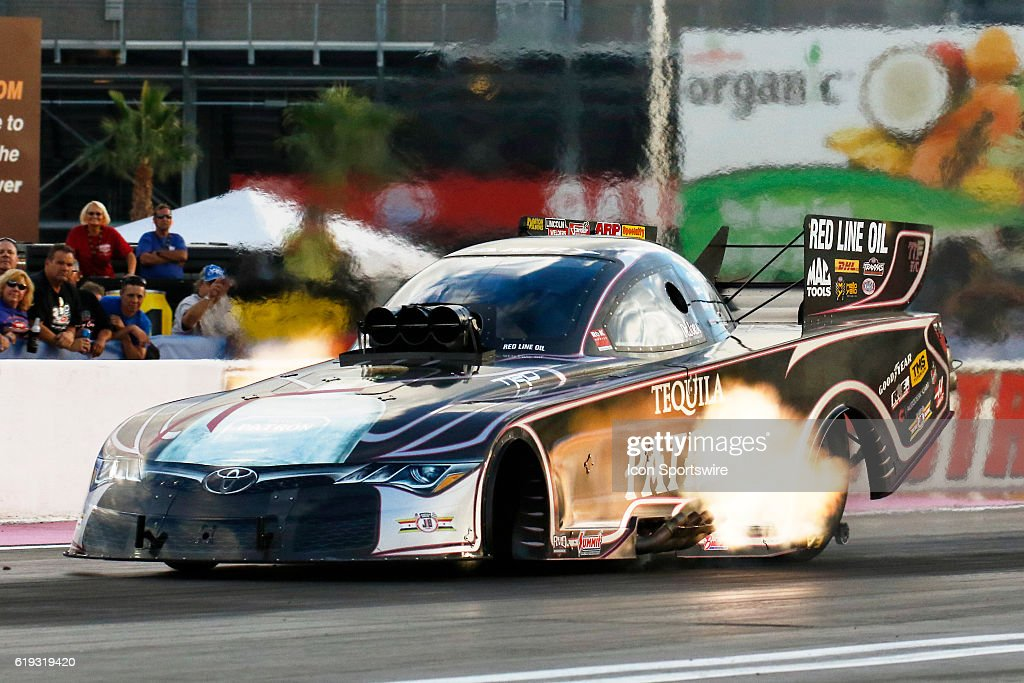 Alexis Dejoria Toyota Camry Nhra Funny Car In Action During The Nhra
