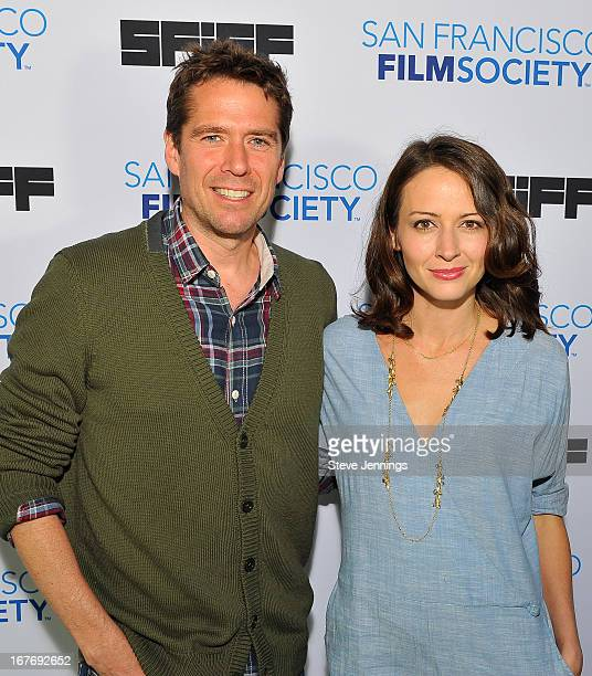 "Alexis Denisof and Amy Acker attend the ""Much Ado About Nothing"" Premiere at the 56th San Francisco International Film Festival at Sundance Kabuki..."