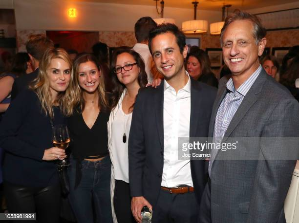 Alexis Draizin Ryan Draizin and Doug Draizin and guests attend The Hollywood Reporter's Next Gen 2018 Celebration at 40 LOVE on November 7 2018 in...
