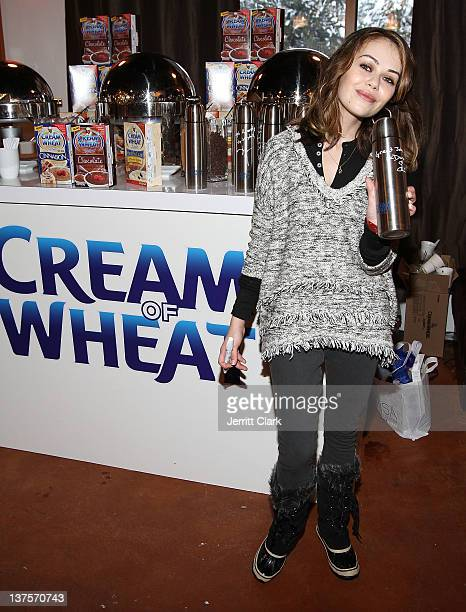 Alexis Dziena attends the Talent Resources Suite onJanuary 22 2012 in Park City Utah