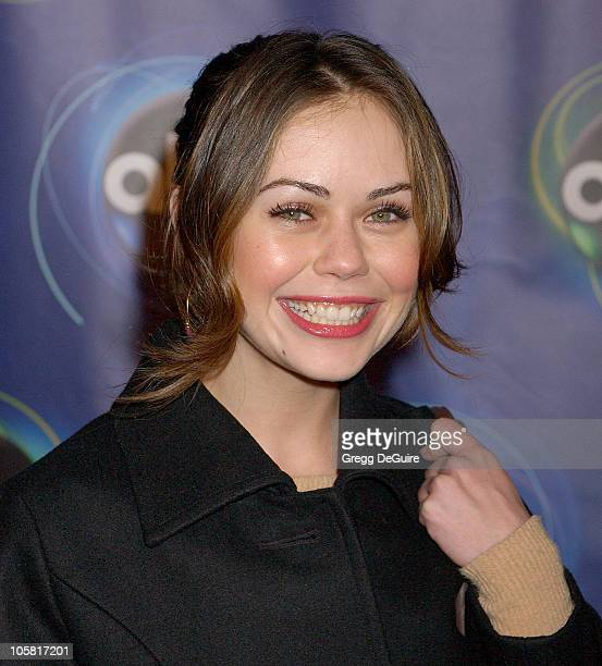 Alexis Dziena of Invasion during 2006 ABC Network AllStar Party Arrivals and Inside at The Wind Tunnel in Pasadena California United States