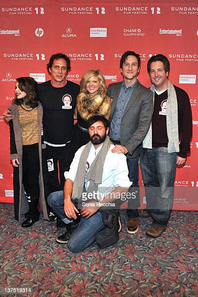 Alexis Dziena William Fichtner Arden Myrin Quentin Dupieux Jack Plotnick and Steve Little attend the 'Wrong' premiere during the 2012 Sundance Film...