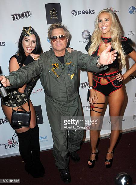 Alexis Fallon Kato Kaelin and Bri Tresa at the Halloween House Party 2016 held at Private Residence on October 31 2016 in Tarzana California