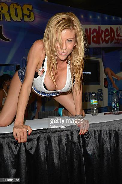 Alexis Fawx attends Exxxotica Miami Beach at the Miami Beach Convention Center on May 18 2012 in Miami Beach Florida