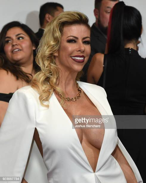 Alexis Fawx attends the 2018 XBIZ Awards on January 18 2018 in Los Angeles California