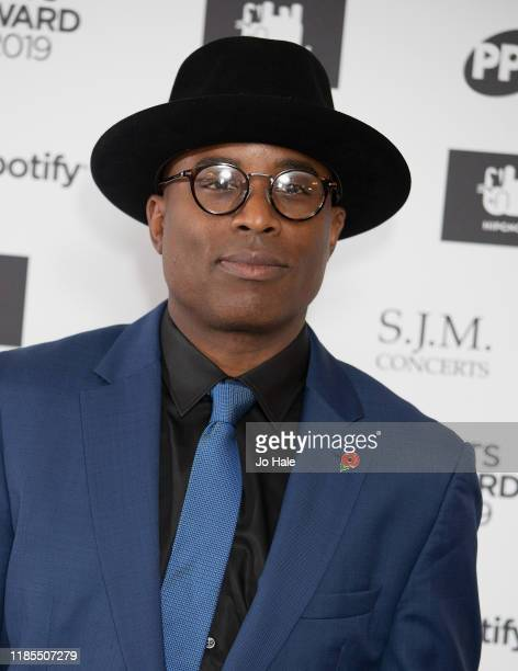 Alexis Ffrench attends the Music Industry Awards Gala 2019 at The Grosvenor House Hotel on November 04 2019 in London England