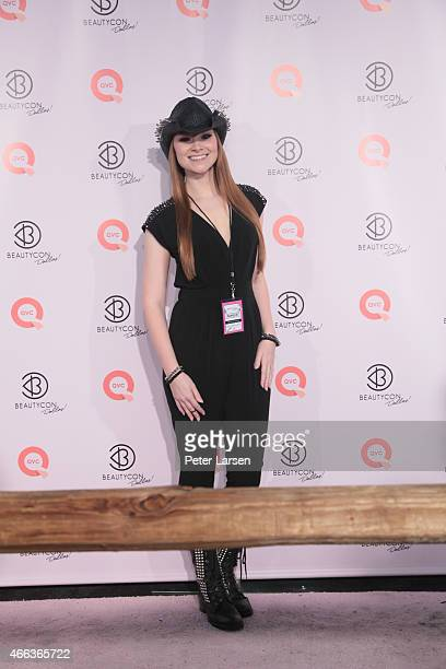 Alexis Fleming MadeYewLook attends BeautyCon Dallas at Fair Park on March 14 2015 in Dallas Texas