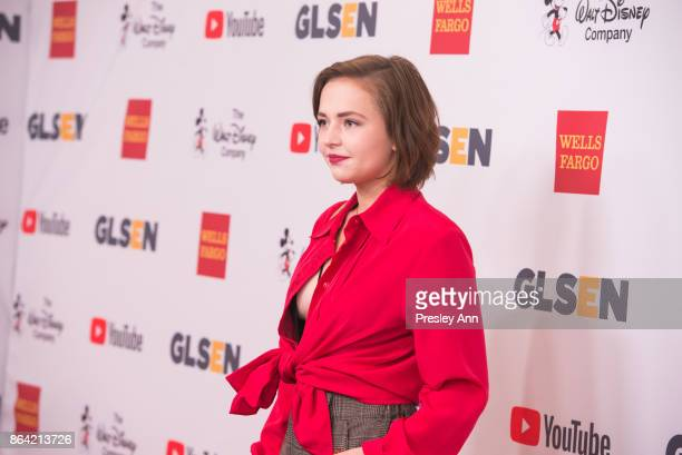 Alexis G Zall attends 2017 GLSEN Respect Awards Arrivals at the Beverly Wilshire Four Seasons Hotel on October 20 2017 in Beverly Hills California