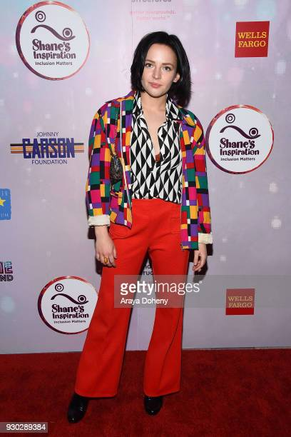 Alexis G Zall attends Shane's Inspiration's 20th Anniversary 'Boogie Wonderland' Gala on March 10 2018 in Los Angeles California