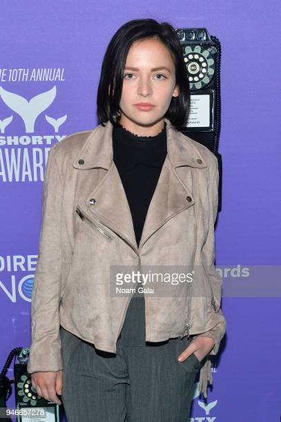 Alexis G Zall attends the 10th Annual Shorty Awards at PlayStation Theater on April 15 2018 in New York City