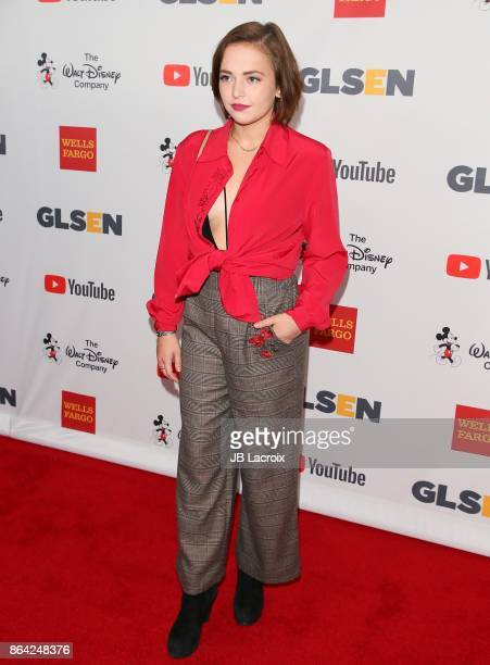 Alexis G Zall attends the 2017 GLSEN Respect Awards on October 20 2017 in Los Angeles California