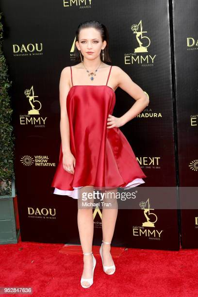 Alexis G Zall attends the 45th annual Daytime Emmy Awards at Pasadena Civic Auditorium on April 29 2018 in Pasadena California
