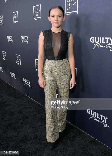 Alexis G Zall attends the 'Guilty Party History of Lying' Season 2 premiere at ArcLight Cinemas on October 2 2018 in Hollywood California