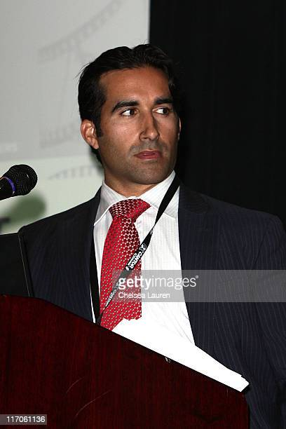 Alexis Garcia of WME Entertainment attends the Winston/Baker 2nd Annual Film Finance Forum at The Hyatt Regency Century Plaza on March 3 2010 in...