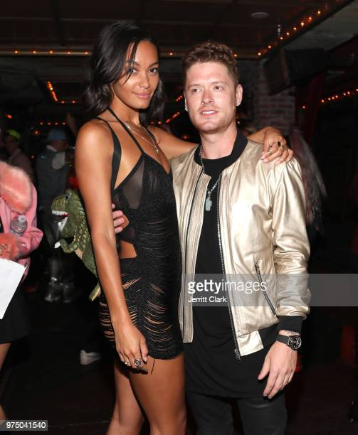 Alexis Gaube and Nash Overstreet attend Galore SUMMER 2000's Fantasy Issue Party After Party at Madame Siam on June 14 2018 in Hollywood California