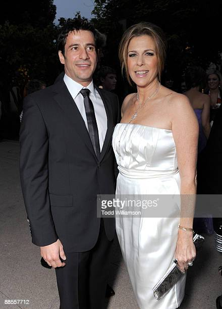Alexis Georgoulis and Rita Wilson arrive at the Los Angeles premiere of ''My Life In Ruins' at the Zanuck Theater at 20th Century Fox Lot on May 29...