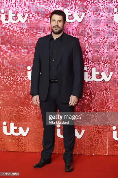 Alexis Georgoulis arrives at the ITV Gala held at the London Palladium on November 9 2017 in London England