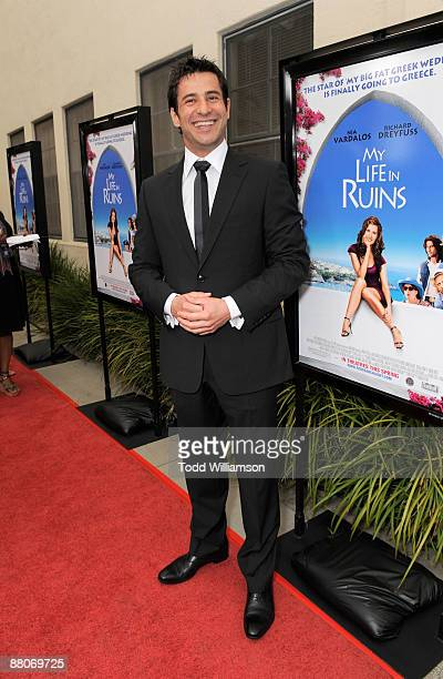Alexis Georgoulis arrives at the Los Angeles premiere of My Life In Ruins at the Zanuck Theater at 20th Century Fox Lot on May 29 2009 in Los Angeles...