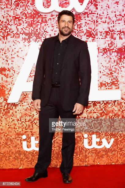 Alexis Georgoulis arriving at the ITV Gala held at the London Palladium on November 9 2017 in London England