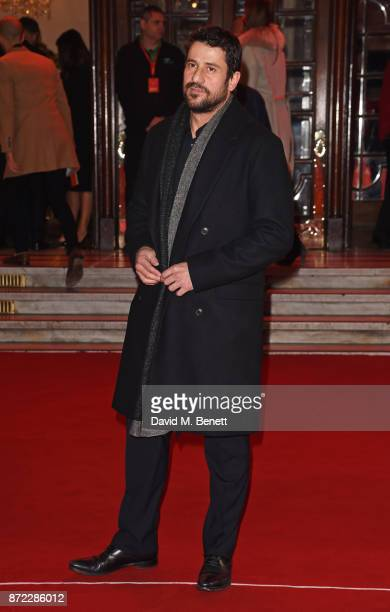 Alexis Georgoulis attends the ITV Gala held at the London Palladium on November 9 2017 in London England