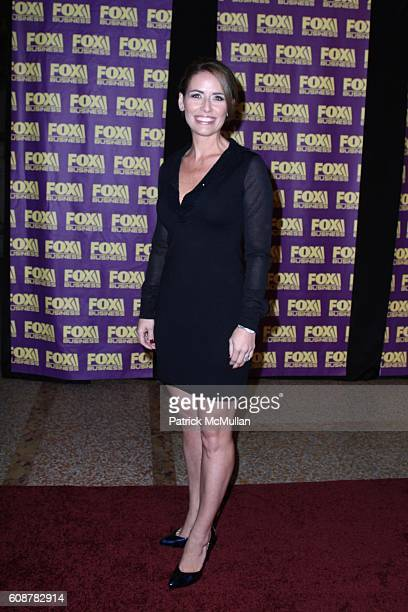 Alexis Glick attends A Celebration for the Launch of THE FOX BUSINESS NETWORK at Temple of Dendur on October 24 2007 in New York City